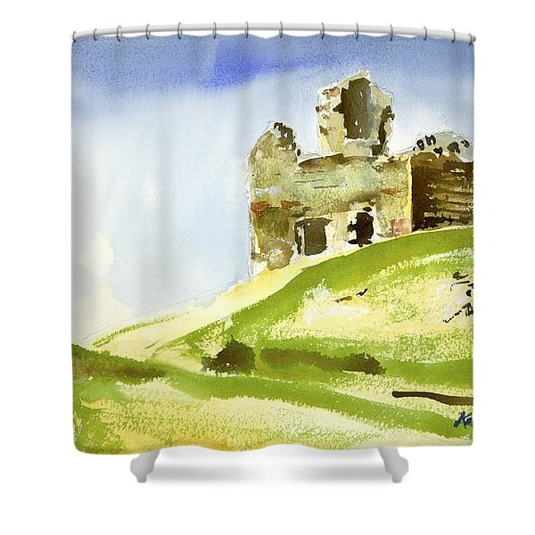 Napoleonic Lookout Shower Curtain