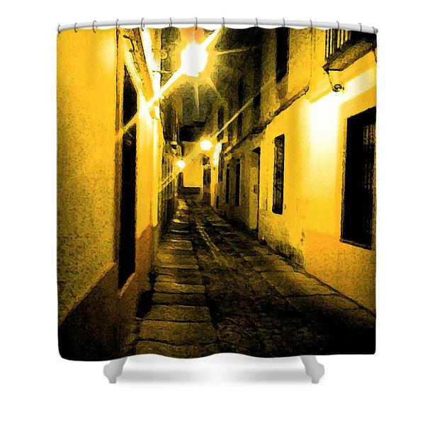 Narrow Shower Curtain