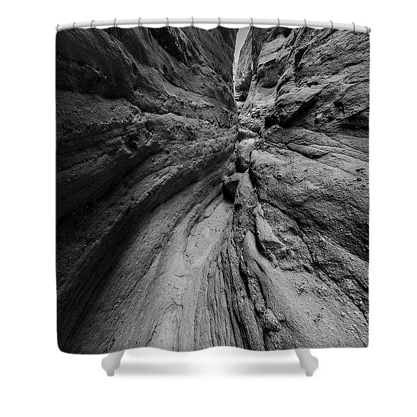 Narrow Lines Shower Curtain