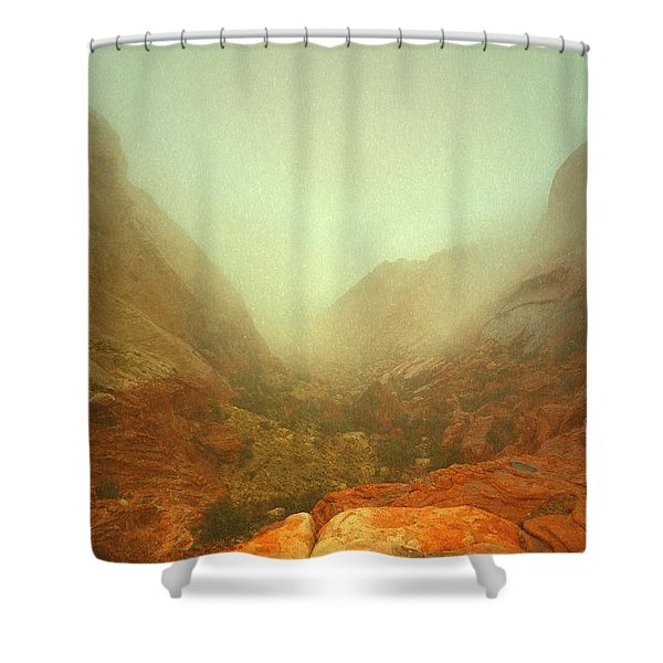 Narrow Out Shower Curtain
