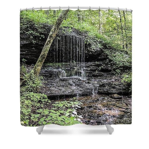 Natchez Trace Waterfall Shower Curtain
