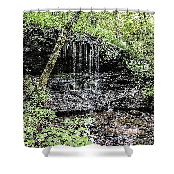 Natchez Trace Waterfall Shower Curtain