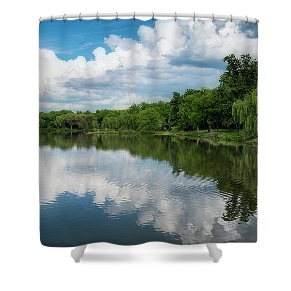 Nathanael Greene Park Shower Curtain