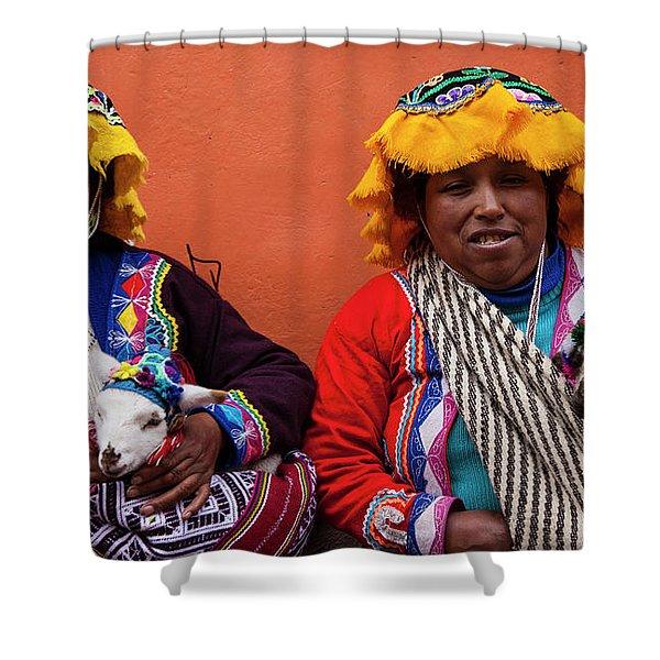 Native Dress Shower Curtain