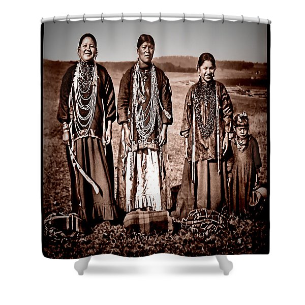 Native Pride Shower Curtain