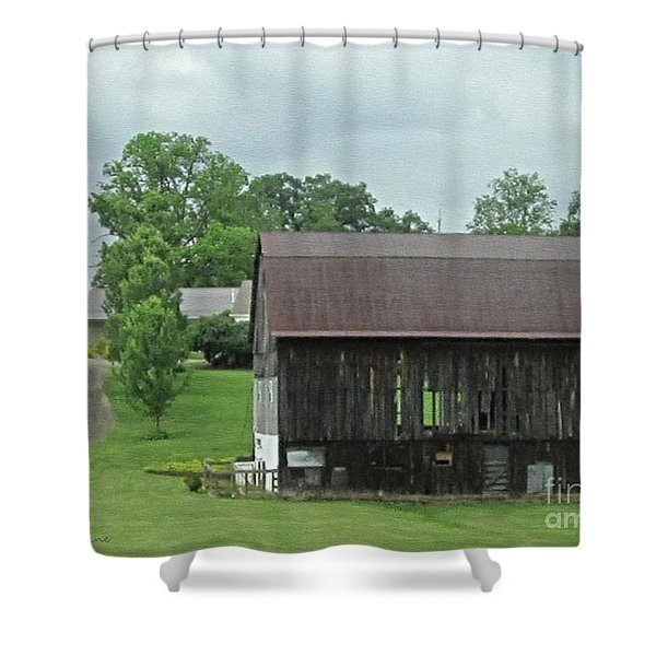 Natural Air Conditioning Shower Curtain