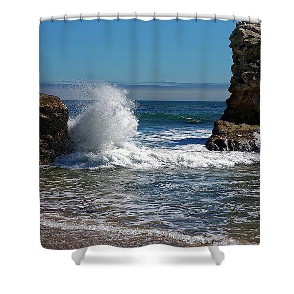 Natural Bridges State Park Shower Curtain