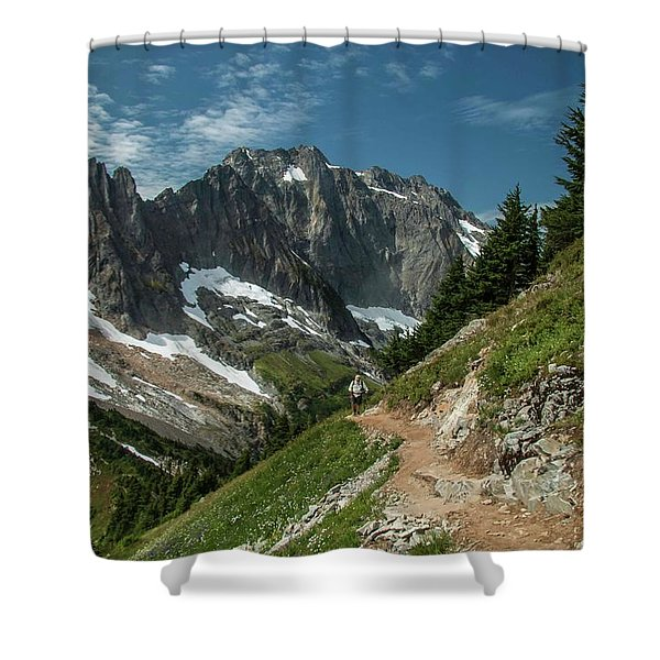 Natural Cathedral Shower Curtain