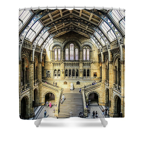 Shower Curtain featuring the photograph Natural History  by Michael Hope