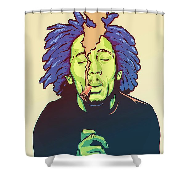 Natural Mystic Shower Curtain