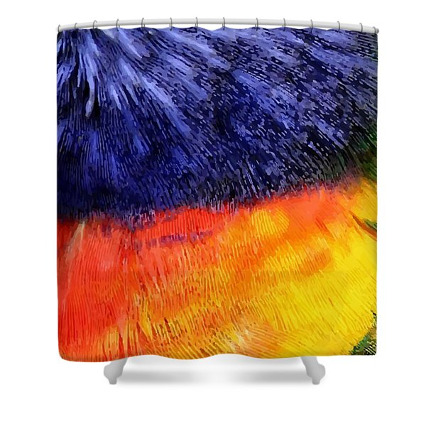 Natural Painter Shower Curtain