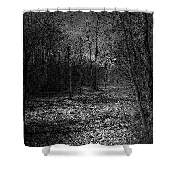 Natural Path Shower Curtain