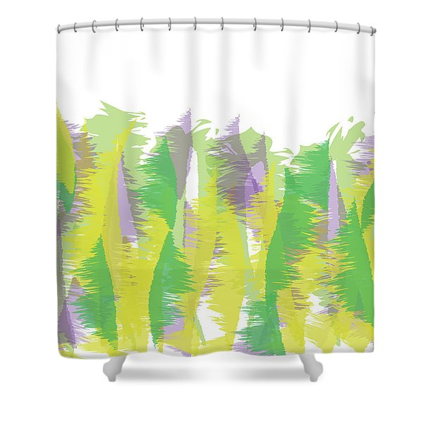 Nature - Abstract Shower Curtain