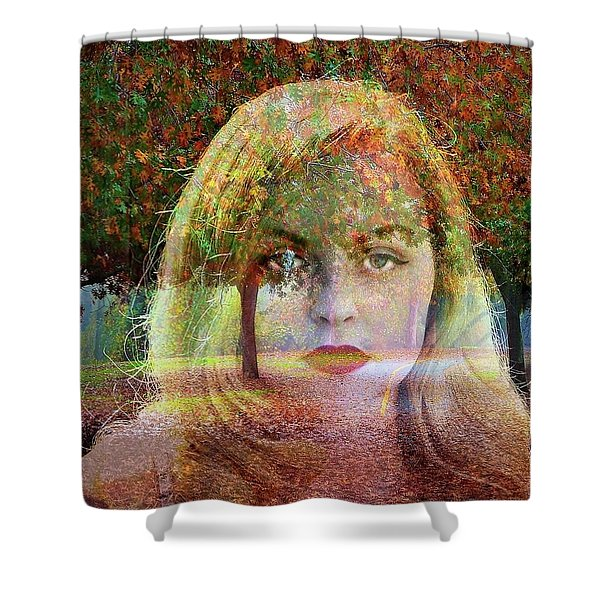 Nature Envelopes Me Shower Curtain