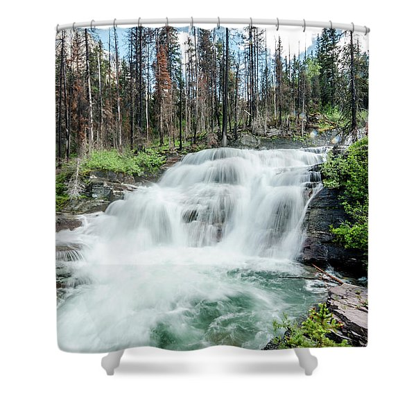 Nature Finds A Way Shower Curtain