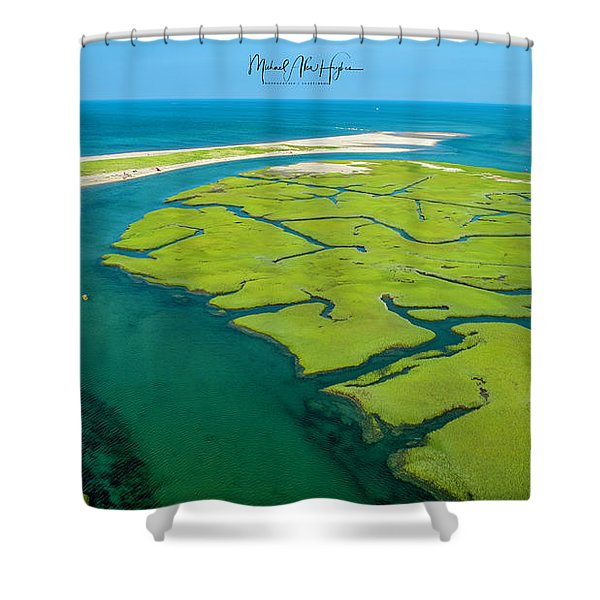 Nature Kayaking Shower Curtain