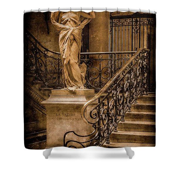 Paris, France - Nature Shower Curtain