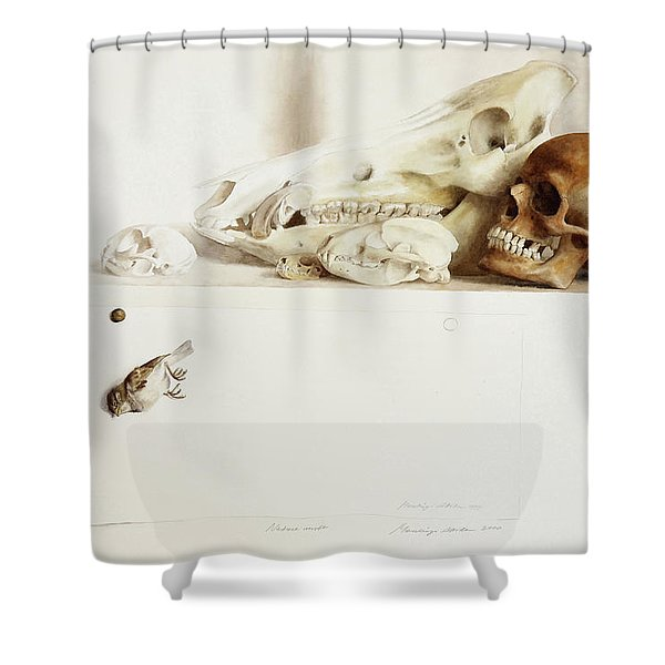 Nature Morte Shower Curtain
