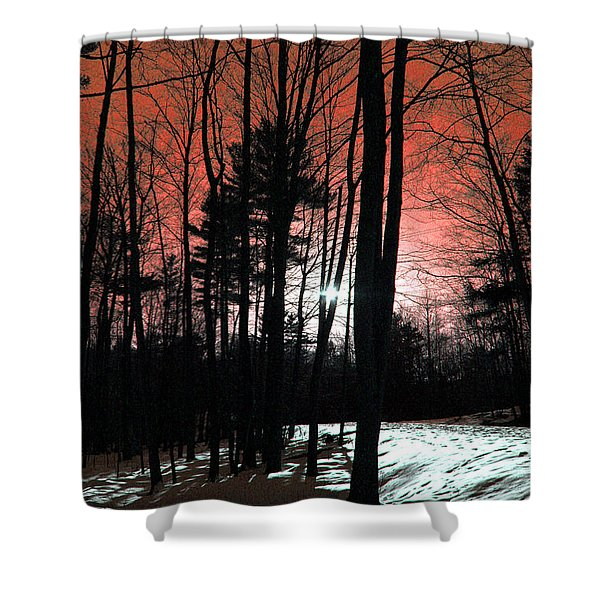 Nature Of Wood Shower Curtain