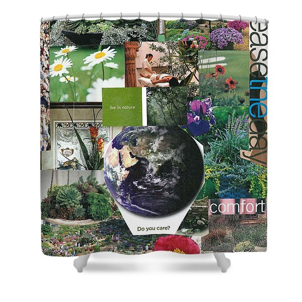 Nature Power Shower Curtain