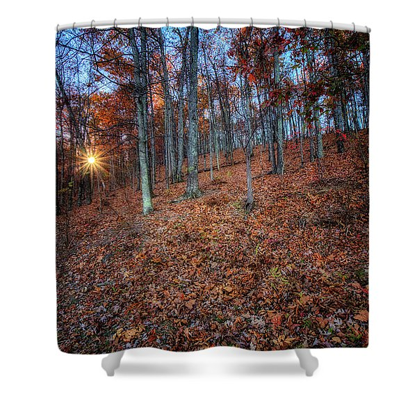 Nature's Carpet Shower Curtain