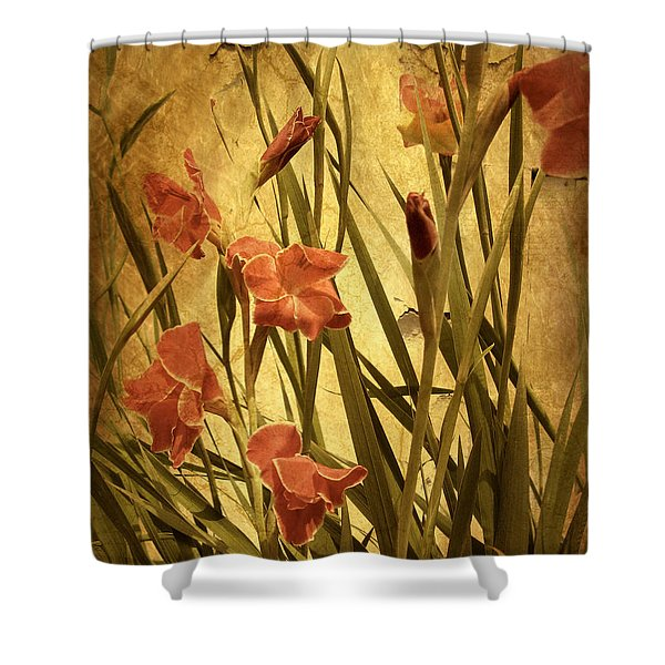 Nature's Chaos In Spring Shower Curtain