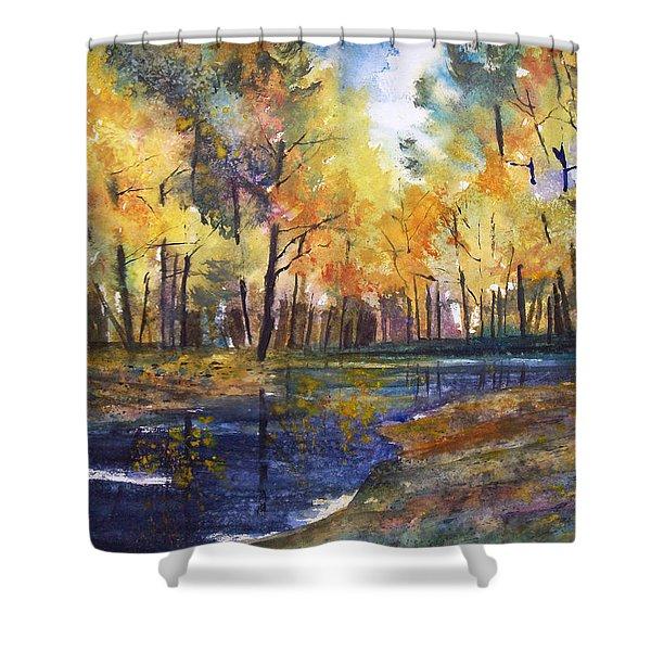 Nature's Glory Shower Curtain by Ryan Radke