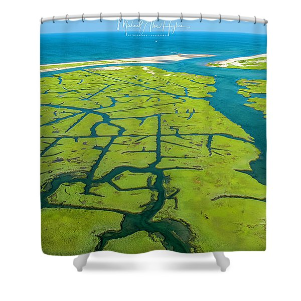 Natures Lines Shower Curtain