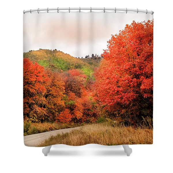 Nature's Palette Shower Curtain