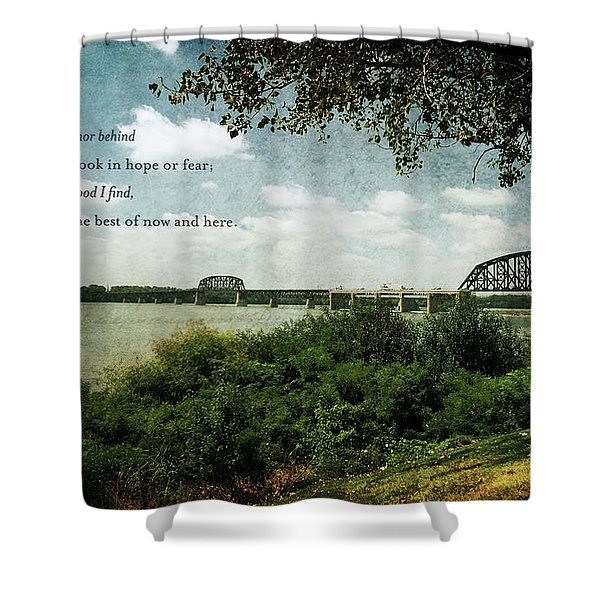 Natures Poetry Shower Curtain