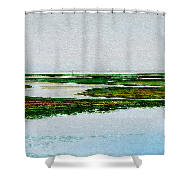 Nauset Osprey Shower Curtain