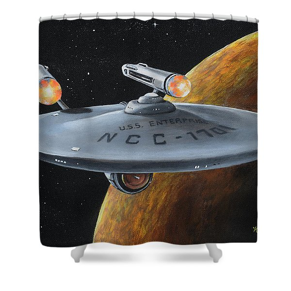 Ncc-1701 Shower Curtain