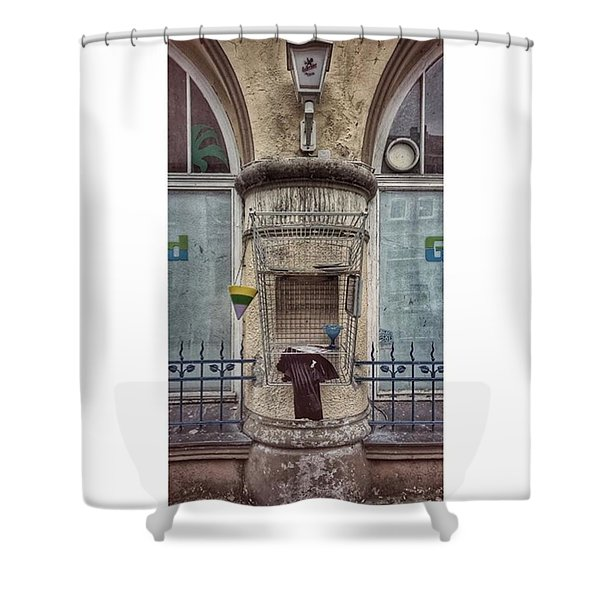 #ndh #nordhausen #freebox #greenisland Shower Curtain