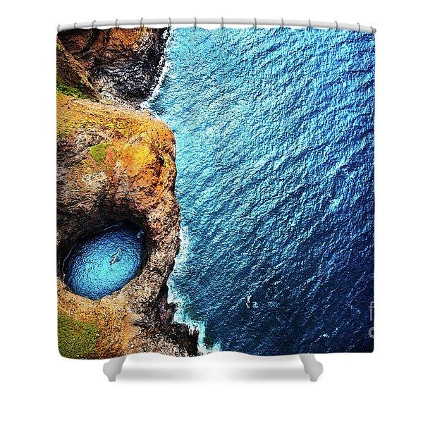 Napali Coast Shower Curtain