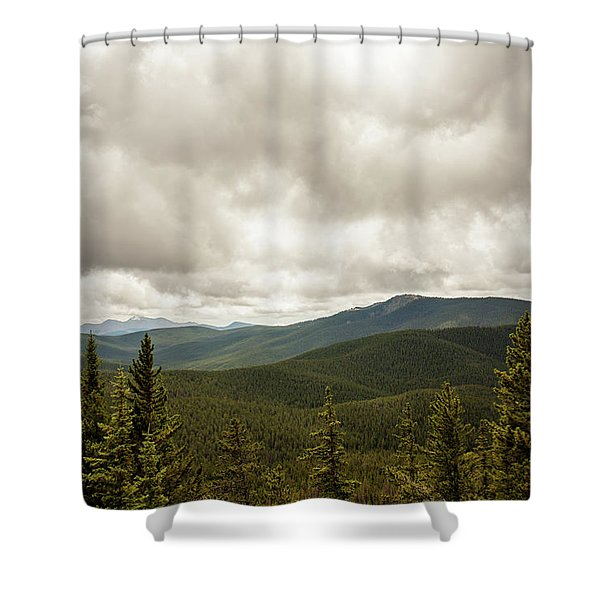 Near Monarch Pass At The Continental Divide Shower Curtain