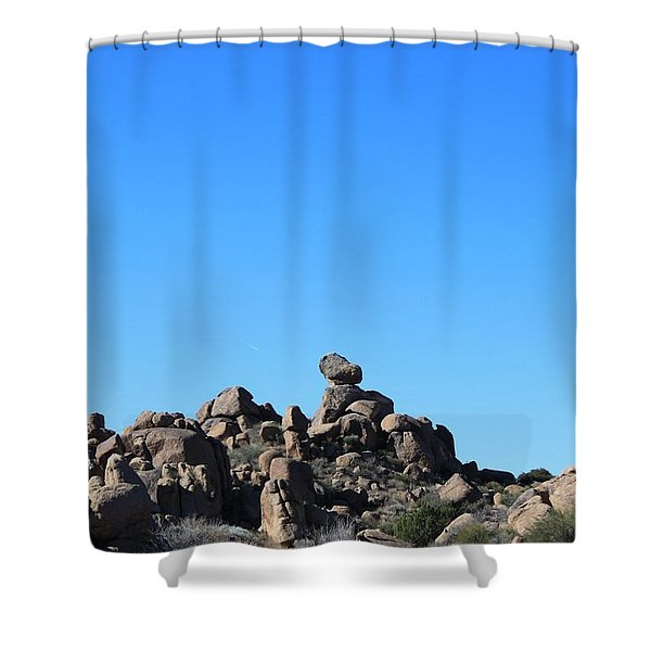 Shower Curtain featuring the photograph Near Wickenburg, Az by Antonio Romero