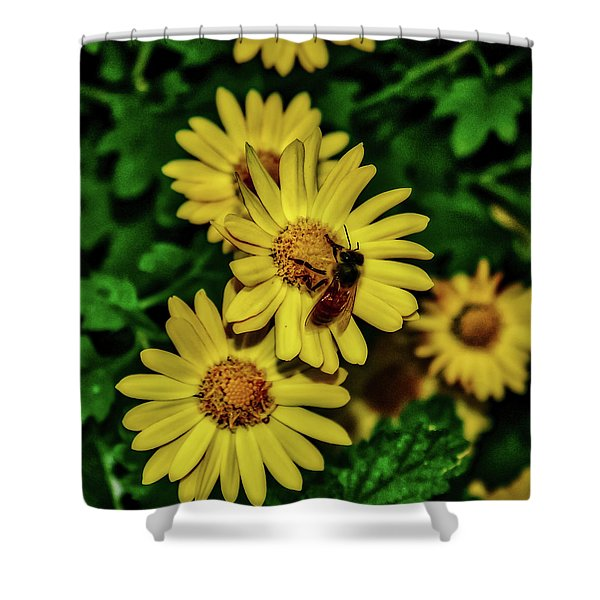 Nectar Gathering Shower Curtain