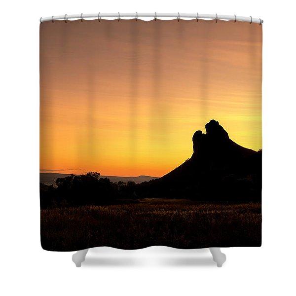 Needle Rock Shower Curtain