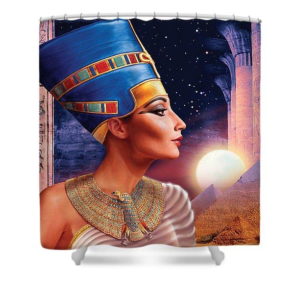 Nefertiti Variant 5 Shower Curtain