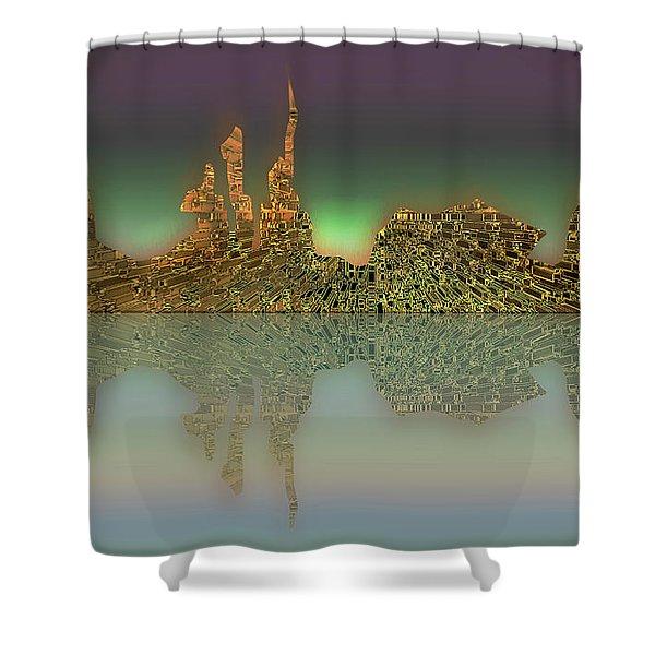 Neft Ardour Shower Curtain