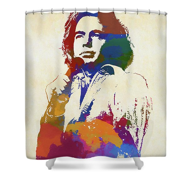 Neil Diamond Shower Curtain