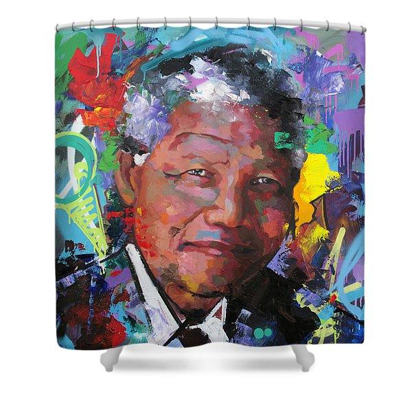 Nelson Mandela Vi Shower Curtain