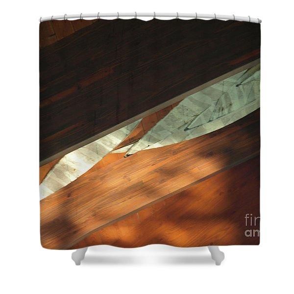 Nemacolinceiling Shower Curtain