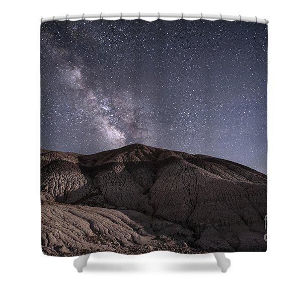 Neopolitan Milkyway Shower Curtain