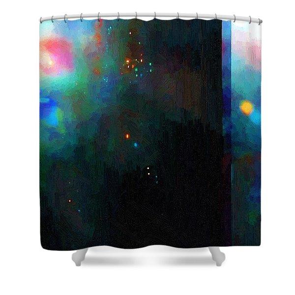 Neptune's Monolith Shower Curtain