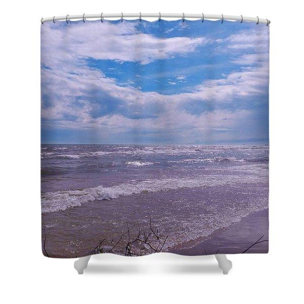 Neshotah Beach 3 Shower Curtain