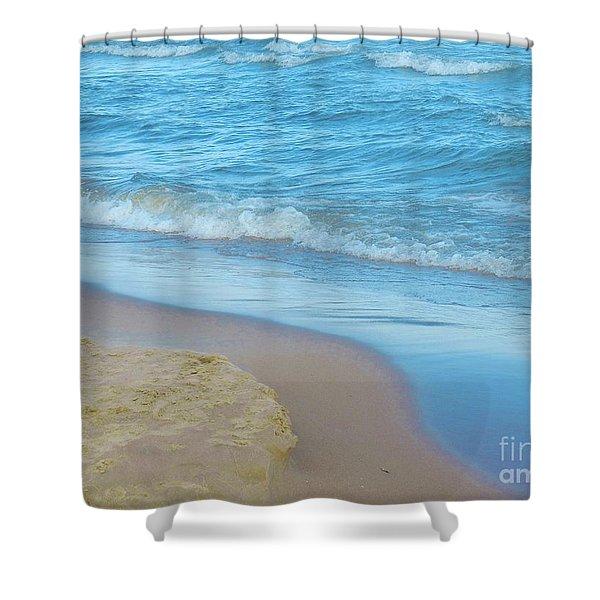 Neshotah Beach 4 Shower Curtain