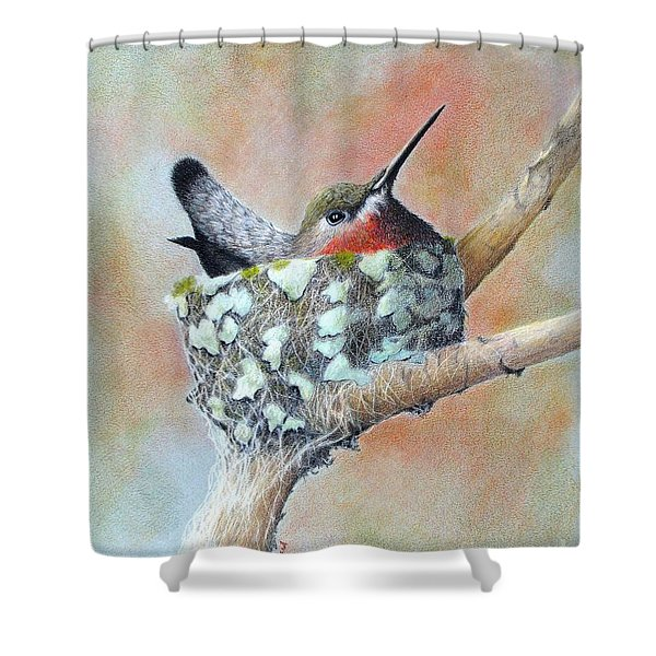 Nesting Anna Shower Curtain