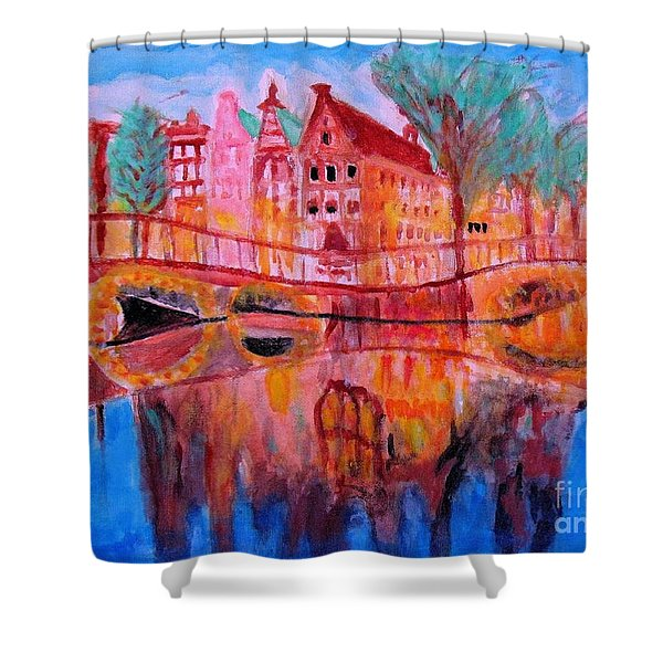 Netherland Dreamscape Shower Curtain