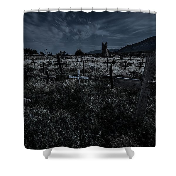 Never Forget Shower Curtain